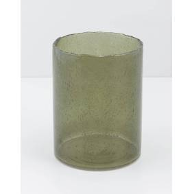 Indiska Coloured glass vase - L