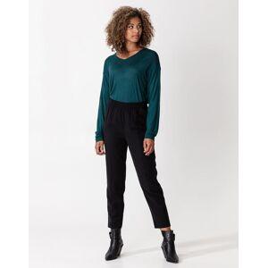 Indiska Solid elasticated pants M  Black