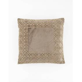Indiska Embellished cushion 40X40  Brown