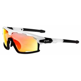 Birk R2 Rocket sportsbrille hvit/sort oransje - AT098B