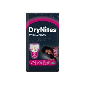 Drynites Bleie jente 4-7år, 10 stk.