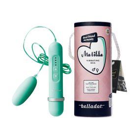 Belladot Matilda vibrerende egg grønn, 1 stk.