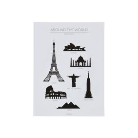 Jotex EIFFEL TOWER poster 30x40 cm