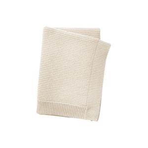 Elodie Details Wool Knitted Blanket Vanilla