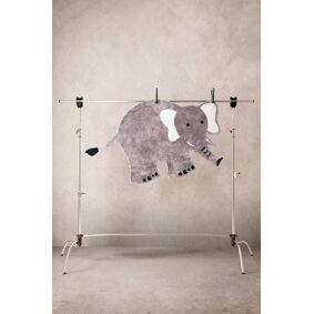 Jotex ELLIE ELEPHANT luggteppe 180x100 cm