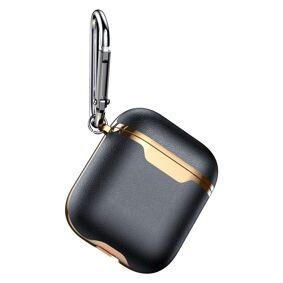 eStore Beskyttelsesdeksel til AirPods - Svart / Gull