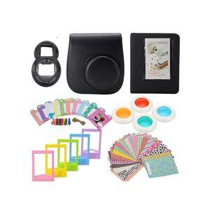 eStore Tilbehørssett for Fujifilm Instax Mini 8 / 9 - Svart