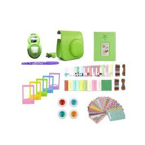 eStore Tilbehørssett for Fujifilm Instax Mini 8 / 9 - Lime Green