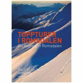 Fri Flyt Forlag Toppturer I Romsdalen - Kart Til Skifører 1:50.000