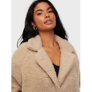 Only Onlaurelia Sherpa Coat Otw Cuban Sand
