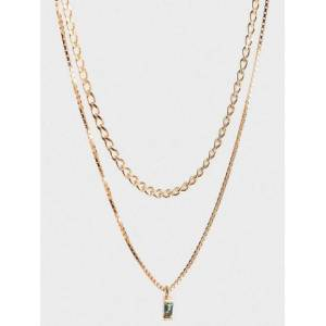 Cornelia Webb Warped Double Necklace