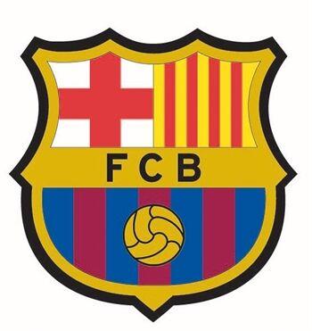 Jysk Partivarer Wallsticker - FC Barcelona - 3D effekt