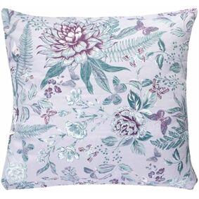 Borg Design Putetrekk - 100% Bomullssateng - Butterfly Lavendel - 50x70 Cm
