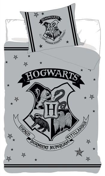 Borg Design Harry Potter Sengetøy - 140x200 Cm - 100% Bomull - Happy