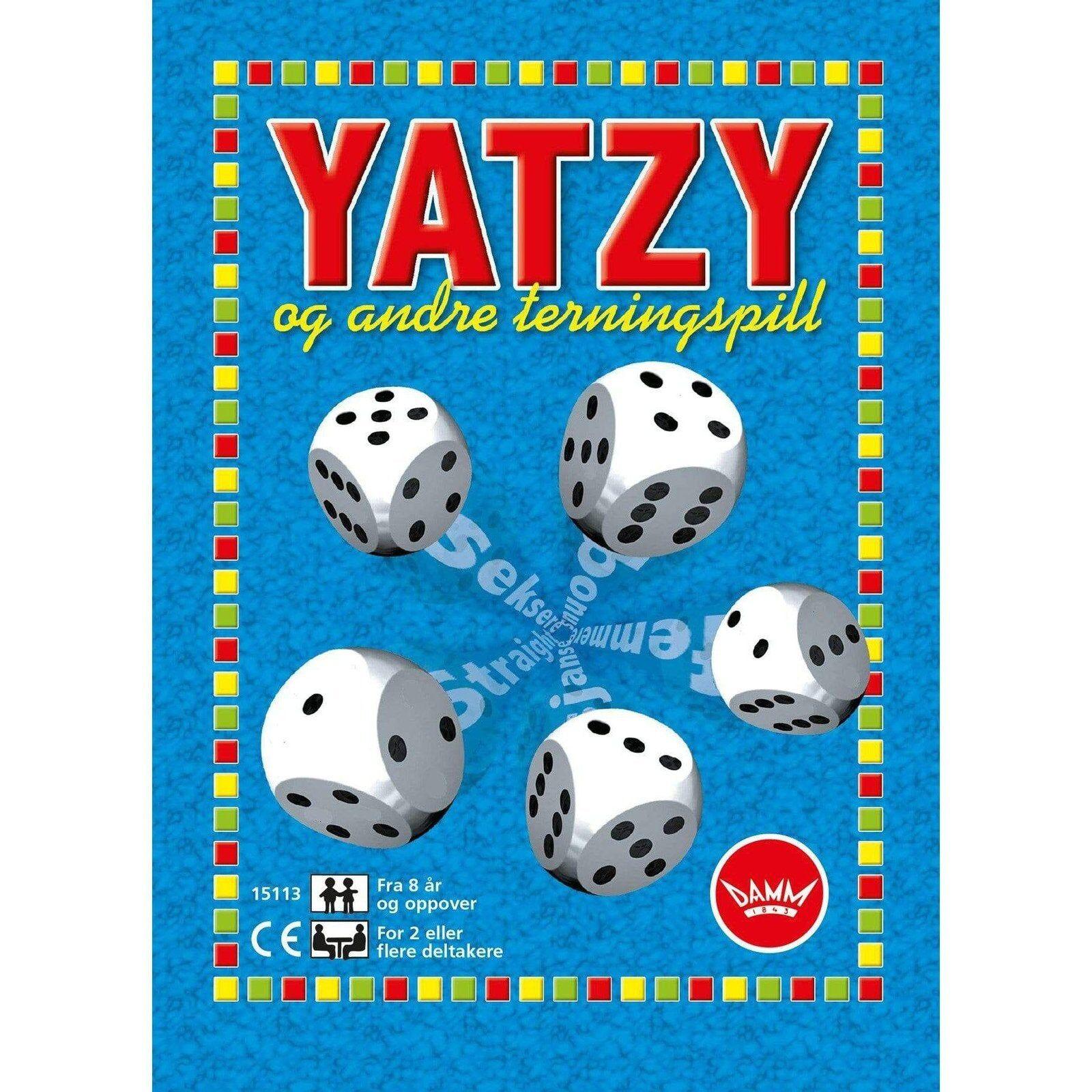 Egmont Damm Spill: Yatzy - Hyttefeber.No 🇳🇴