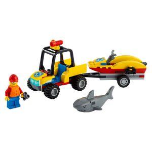Lego Strandredning med ATV