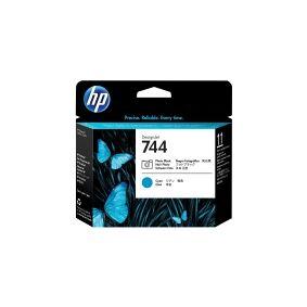 HP 744 - Cyan, fotosort - skriverhode - for DesignJet HD Pro MFP, Z2600 PostScript, Z5600 PostScript