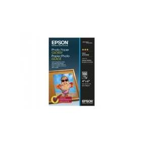 Epson - Blank - 102 x 152 mm - 200 g/m² - 100 ark fotopapir - for EcoTank ET-2750, 2751, 4750  SureColor P706  WorkForce WF-7845  WorkForce Pro WF-3725