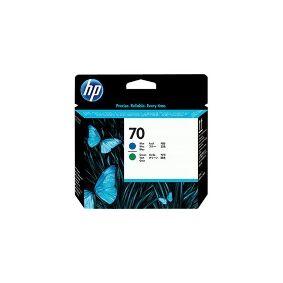 HP 70 - Blå, grønn - skriverhode - for DesignJet Z3100, Z3100 GP, Z3100ps GP, Z3200, Z3200ps