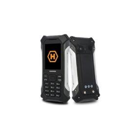 myPhone HAMMER Patriot, Bar/Sperre, Dobbel SIM, 6,1 cm (2.4), 2 MP, 1800 mAh, Svart, Sølv