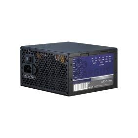Inter-Tech Elektronik Handels Argus APS-520W - Strømforsyning (intern) - ATX12V 2.31 - AC 115/230 V - 520 watt - aktiv PFC