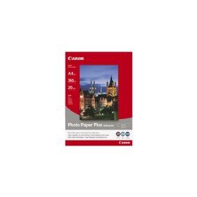 Canon Photo Paper Plus SG-201 - Halvblank - A3 (297 x 420 mm) - 260 g/m² - 20 ark fotopapir - for i6500, 9100, 9950  PIXMA iX4000, iX5000, iX7000, PRO-1, PRO-10, PRO-100