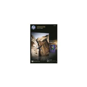 HP Advanced Photo Paper - Blank - A3 (297 x 420 mm) - 250 g/m² - 20 ark fotopapir - for Officejet 7000 E809, 7510, 76XX  Officejet Pro 77XX  Photosmart 65XX B211, B8550