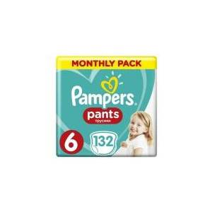Pampers Diapers ABD MSB size 6 132 pcs.