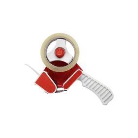 TOOLCRAFT Tape-rulle Rød, Hvid Rulle Bredde (max.): 50 mm