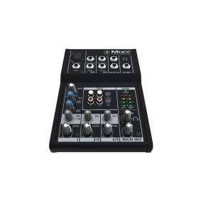 Mackie Mix5, 5 kanaler, 20 - 30000 Hz, 2000 O, 140 mm, 196 mm, 43 mm