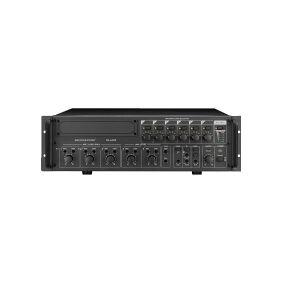 MONACOR PA-6480, 5 kanaler, 55 - 16000 Hz, 1%, 6,3 mm, 230 V, 50 Hz