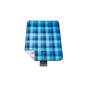 Spokey Picnic Blanket Flannel 150 x 180 cm blue (839636)