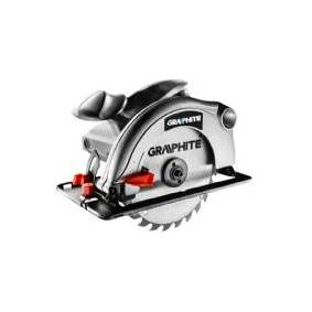 Graphite 1200W 65mm Circular Saw with case + 2x circular saw blades (58G488)