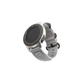 Urban Armor Gear UAG Galaxy Watch Band 42mm - Nato Grey - Klokkestropp for smart armbåndsur - 133 - 191 mm - grå - for Samsung Galaxy Watch (42 mm)