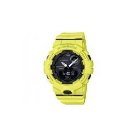 Casio Kronograf Armbåndsur GBA-800-9AER (L x B x H) 54.1 x 48.6 x 15.5 mm Gul Kabinetmateriale=Harpiks Materiale (armbånd)=Harpiks