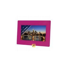 Braun DigiFrame 709 - Digital fotoramme - 7 - 800 x 480 - rosa