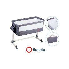 Lionelo TheO Dark Gray travel cot