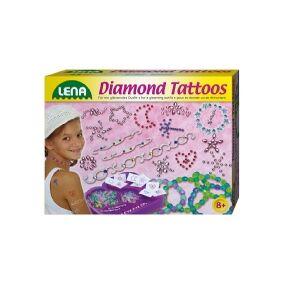 Lena tatoveringer ''Diamant'' til børn, stor