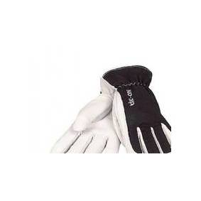 OX-ON driver handske str. 09 - Winter Supreme 3607,håndflade i blødt gedeskind, vinterforet