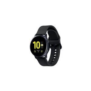Samsung Galaxy Watch Active 2 - 40 mm - aqua black aluminum - smart ur med bånd - fluoroelastomer - aqua black - display 1.2 - 4 GB - Wi-Fi, NFC, Bluetooth - 26 g (NOT Nordic Approved - No SamsungPay/e-sim)