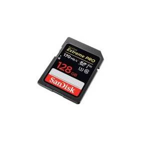 SanDisk Extreme Pro - Flashminnekort - 128 GB - Video Class V30 / UHS-I U3 / Class10 - SDXC UHS-I