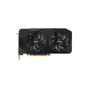 Asus DUAL-RTX2060-6G-EVO - Grafikkort - GF RTX 2060 - 6 GB GDDR6 - PCIe 3.0 - DVI, 2 x HDMI, DisplayPort