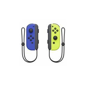 Nintendo Joy-Con(Left & Right) - Håndkonsoll - trådløs - blå, neongul (en pakke 2) - for Nintendo Switch