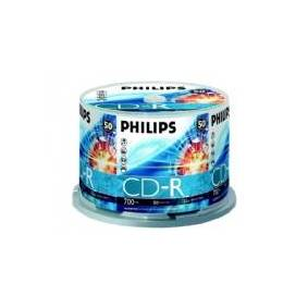 Philips CR7D5NB50 - 50 x CD-R - 700 MB (80 min) 52x - spindel