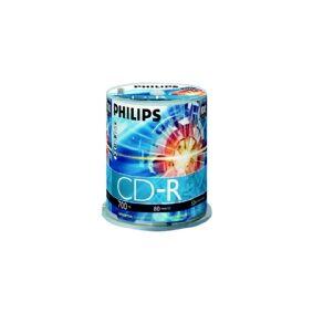 Philips CR7D5NB00 - 100 x CD-R - 700 MB (80 min) 52x - spindel