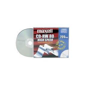 Maxell - 10 x CD-RW - 700 MB (80 min) 4x - 10x - CD-eske