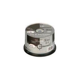Intenso - 50 x CD-R - 700 MB (80 min) 52x - blekkstråleskrivbar overflate - spindel