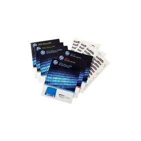 HPE Ultrium 4 RW Bar Code Label Pack - Strekkodeetiketter - for HPE MSL2024, MSL4048  1/8 G2 Tape Autoloader  LTO-4 Ultrium  StoreEver Ultrium 1840