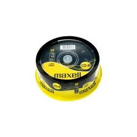 Maxell - 25 x CD-R - 700 MB (80 min) 52x - spindel