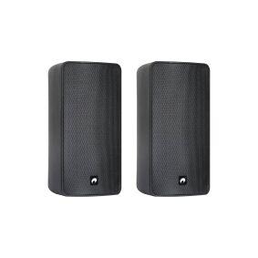 Omnitronic ODP-206 Væghøjttalere 160 W 16 Ohm Sort 1 pair